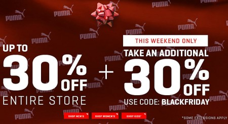 PUMA-Black-Friday-Sale-Up-to-30-Off-Extra-30-Off-Promo-Code-Free-Shipping-Nov-26-30-450x245